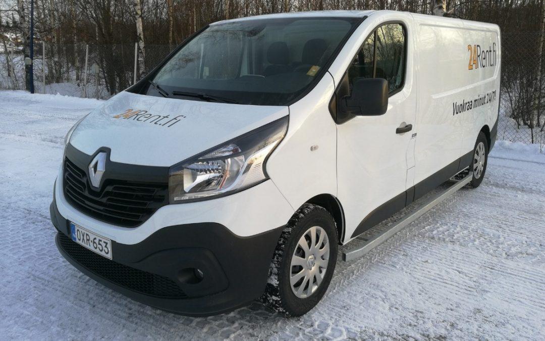 30 uutta Renault-pakettiautoa vastaamaan yhteiskäytön kasvavaan kysyntään – 24Rentin asiakkaat ajaneet Renaulteilla jo 8 miljoonaa kilometriä