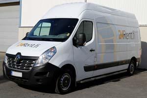 Vuokraa pakettiauto Renault Master 15m³