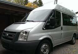 Vuokraa pakettiauto Ford Transit Bus