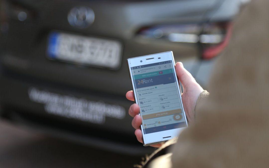 Tiedote 31.1.2020 – Yhteiskäyttöautoyritys 24 Rental Network jatkaa kasvuaan Suomessa